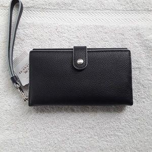 Coach wristlet/wallet